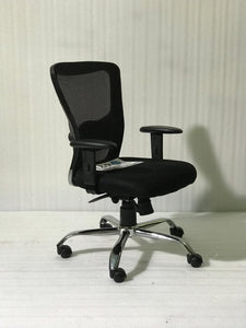 FC410- Jazz Medium Back Mesh Chair with adjustable armrest