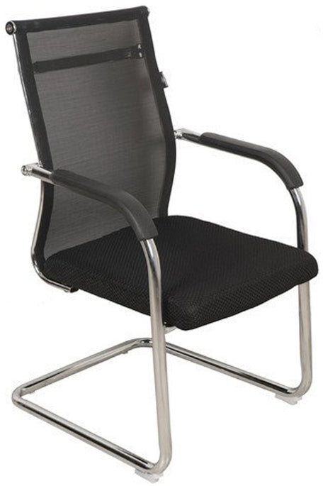 FC605 Visitor Chair in Black