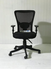 Load image into Gallery viewer, FC410- Jazz Medium Back Mesh Chair with adjustable armrest