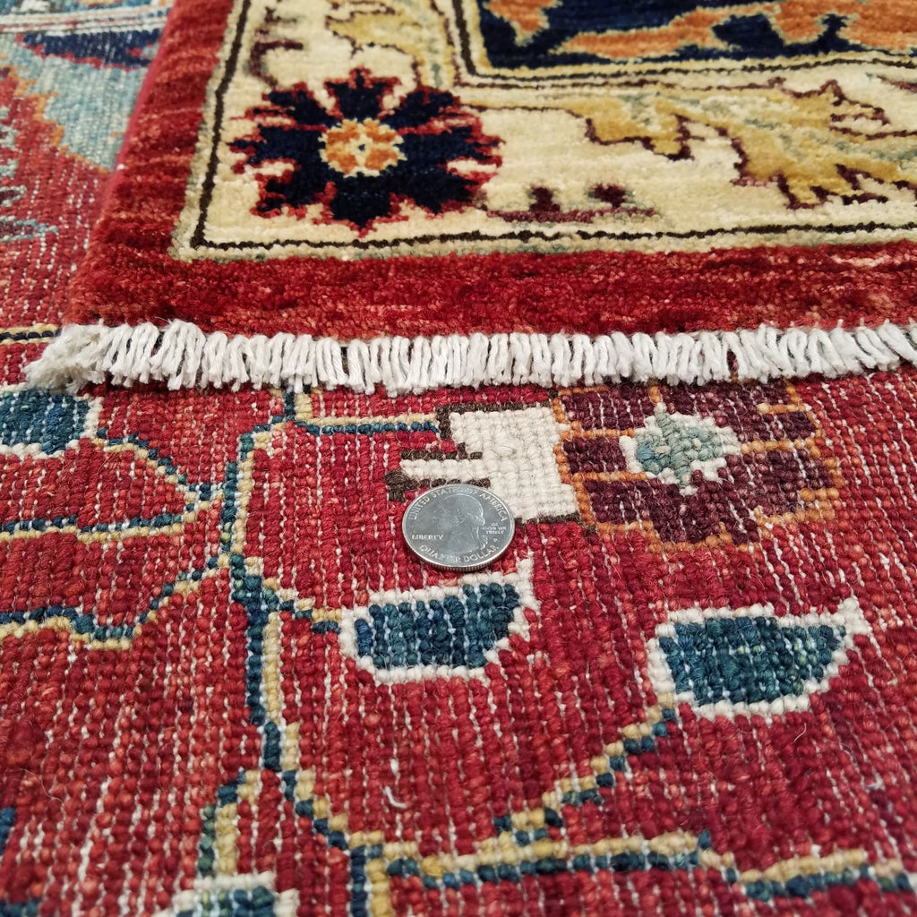 "9'10"" x 13'9""   Serapi Rug Back View"