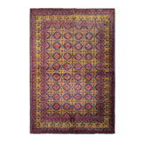 "6'5"" x 9'5""   Kunduz Rug Top View"