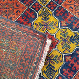"6'5"" x 9'5""   Kunduz Rug Back View"