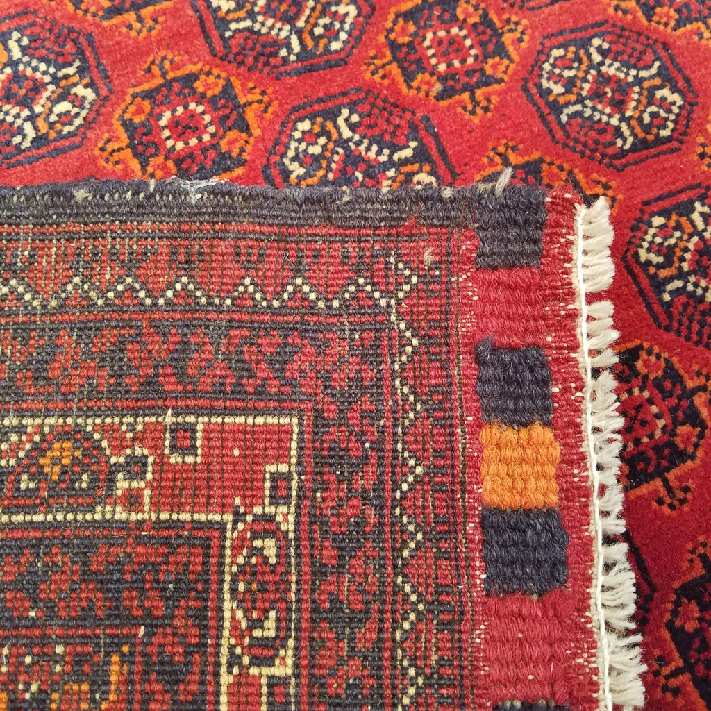 "4'10"" x 6'2""   Kunduz Rug Back View"