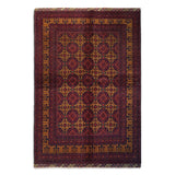 "6'4"" x 9'1""   Kunduz Rug Top View"