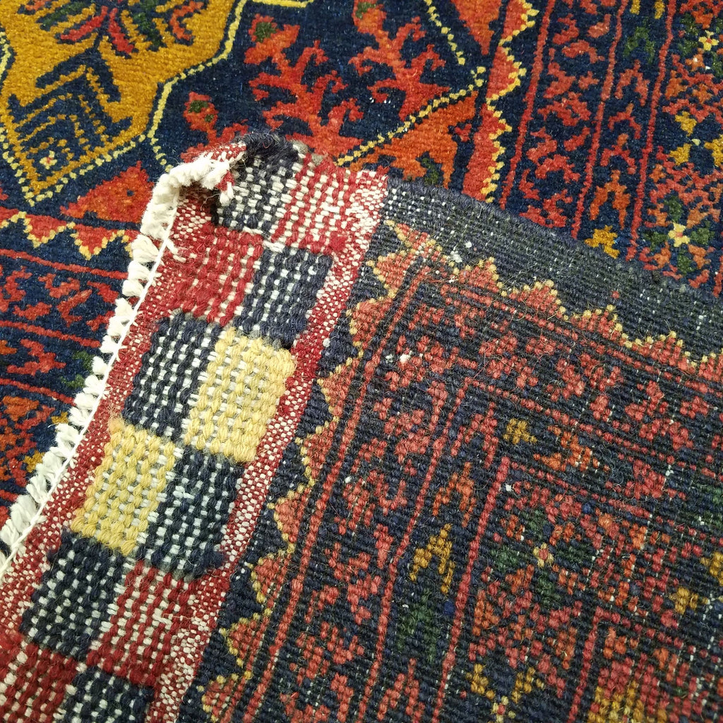 "6'4"" x 9'1""   Kunduz Rug Back View"