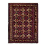 "5'0"" x 6'7""   Kunduz Rug Top View"