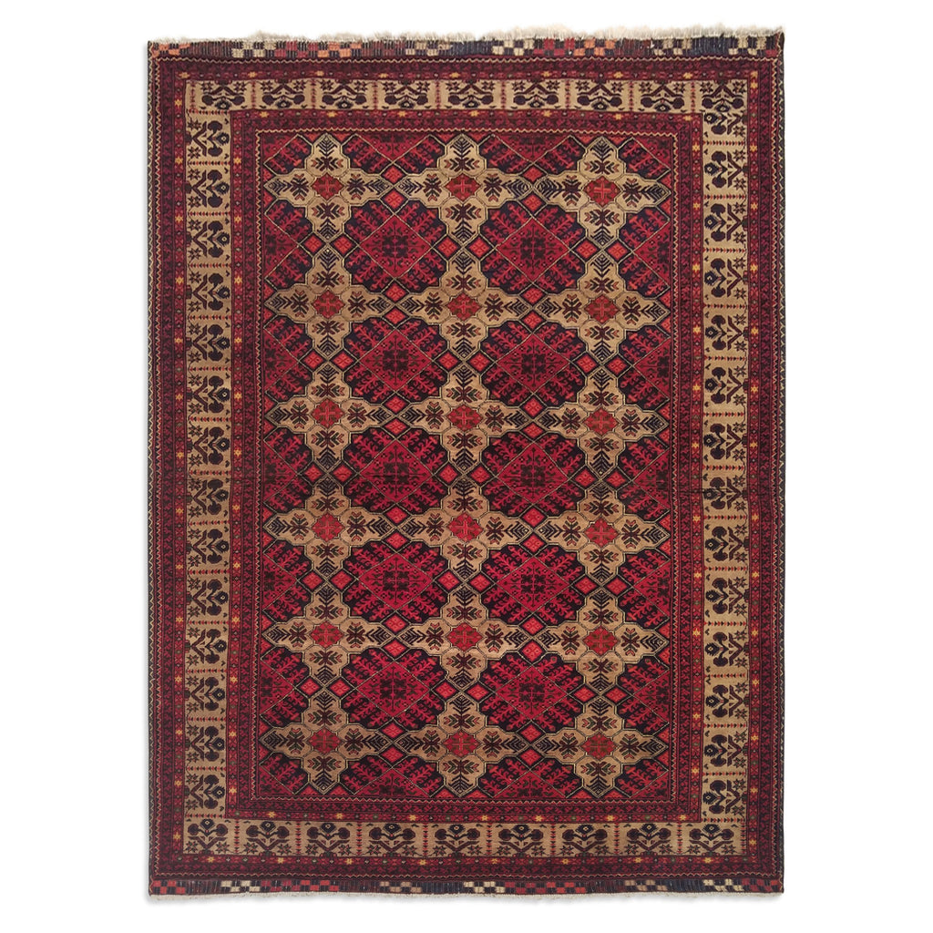 "4'10"" x 6'3""   Kunduz Rug Top View"
