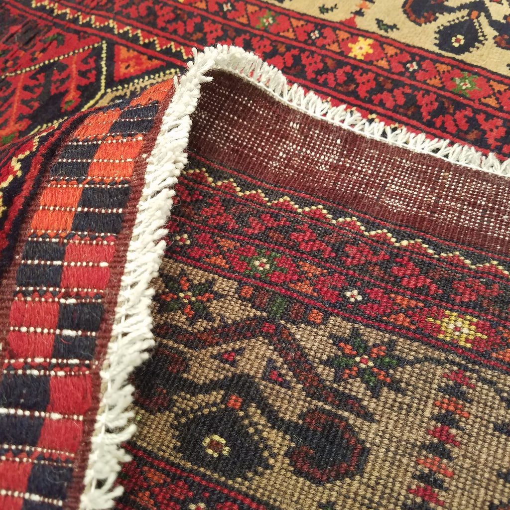 "4'10"" x 6'3""   Kunduz Rug Back View"