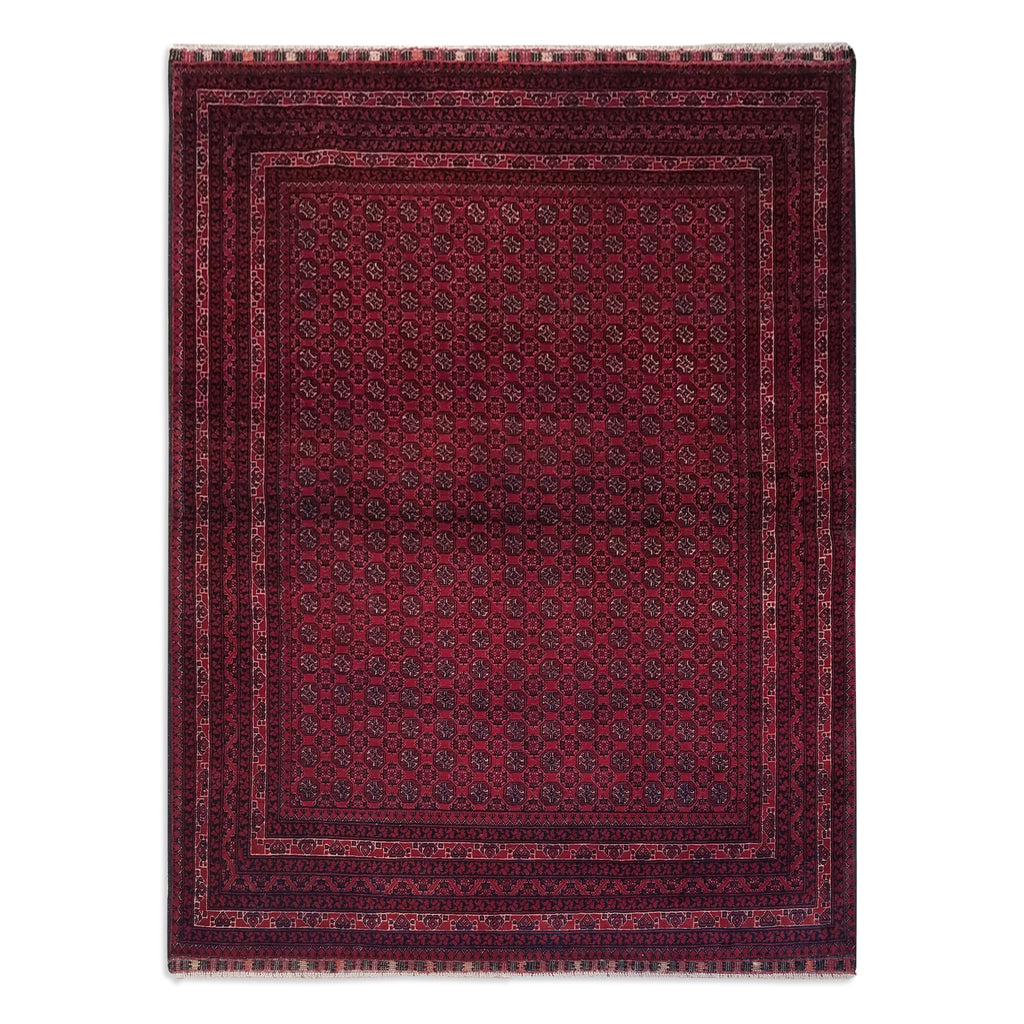 "4'10"" x 6'4""   Kunduz Rug Top View"