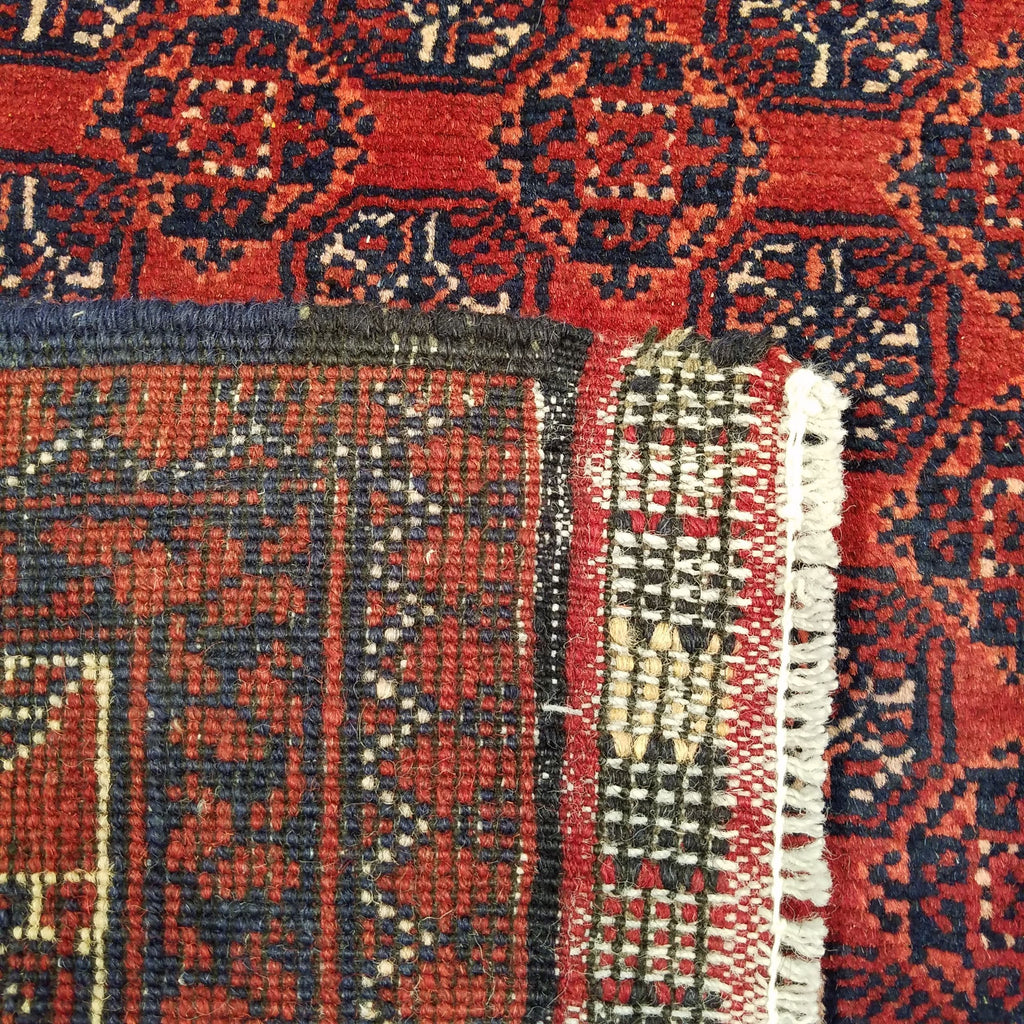"4'10"" x 6'4""   Kunduz Rug Back View"