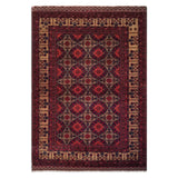 "4'11"" x 6'8""   Kunduz Rug Top View"