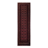 "2'10"" x 9'4""   Kunduz Runner Rug Top View"
