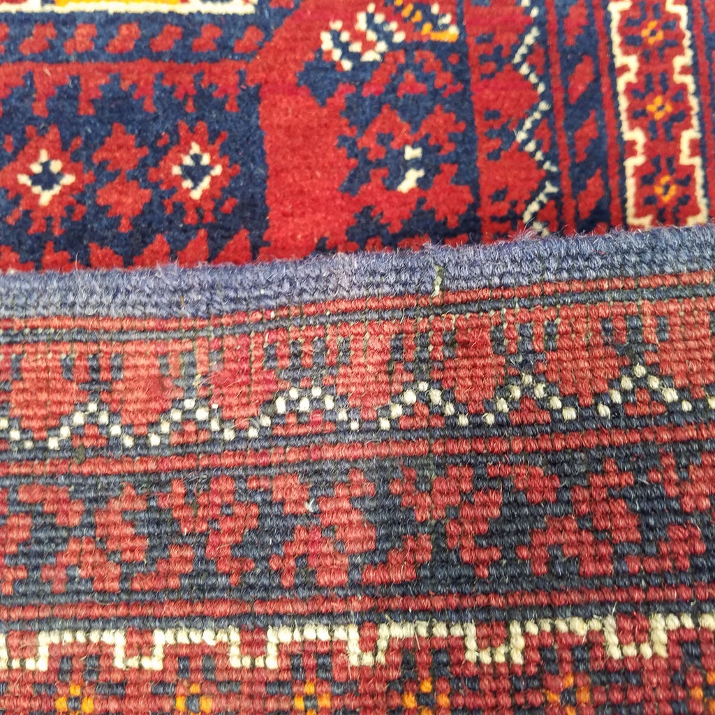 "2'10"" x 9'8""   Kunduz Runner Rug Back View"