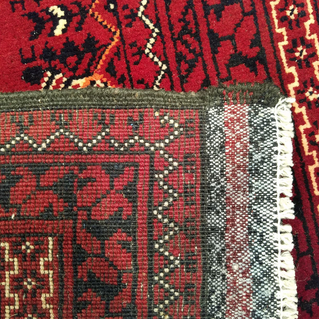 "2'10"" x 9'5""   Kunduz Runner Rug Back View"