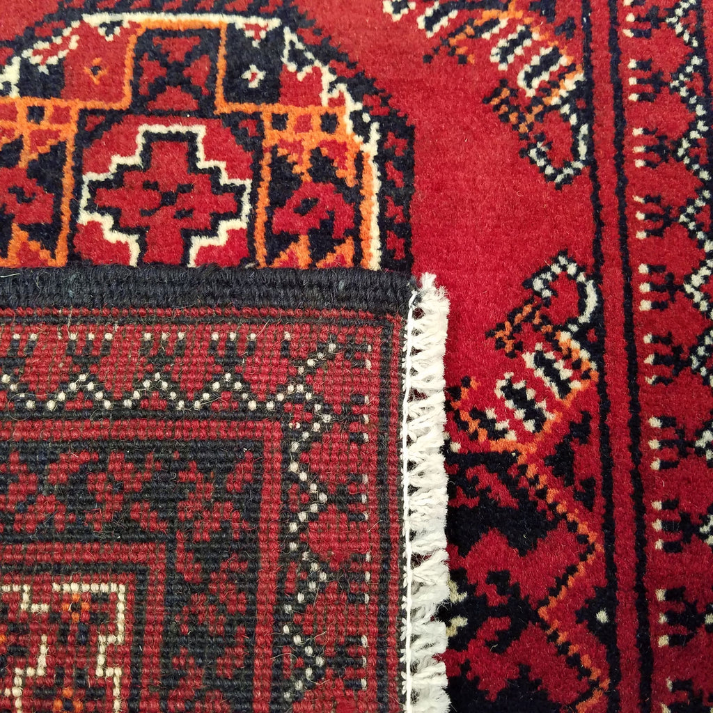"2'11"" x 9'11""   Kunduz Runner Rug Back View"