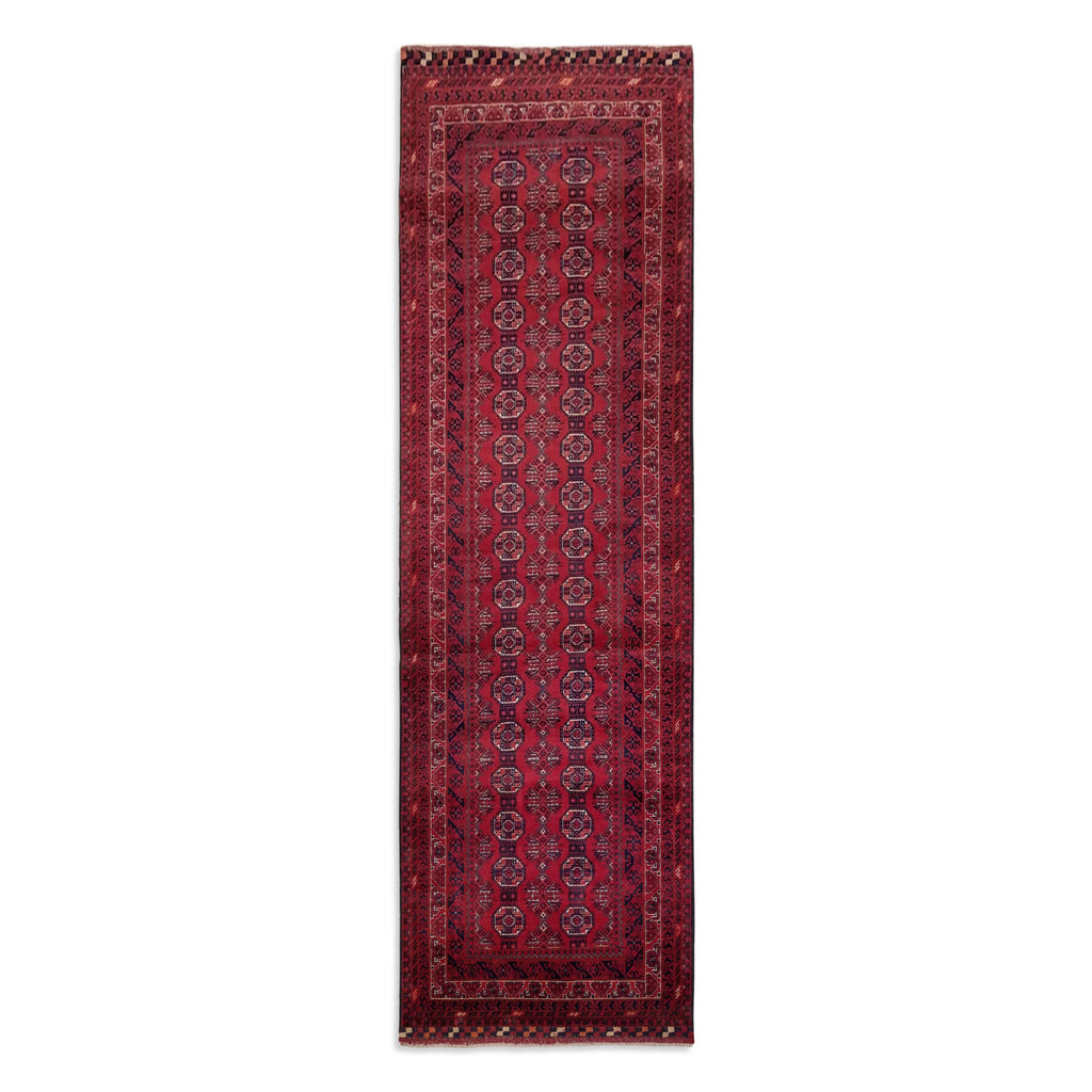 "2'11"" x 9'6""   Kunduz Runner Rug Top View"