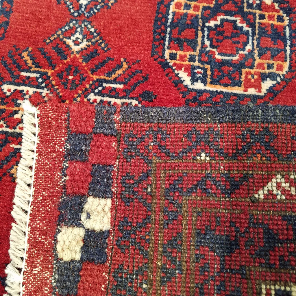 "2'11"" x 9'6""   Kunduz Runner Rug Back View"