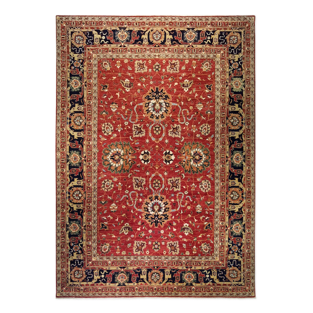 "9'9"" x 13'9""   Mahal Rug Top View"