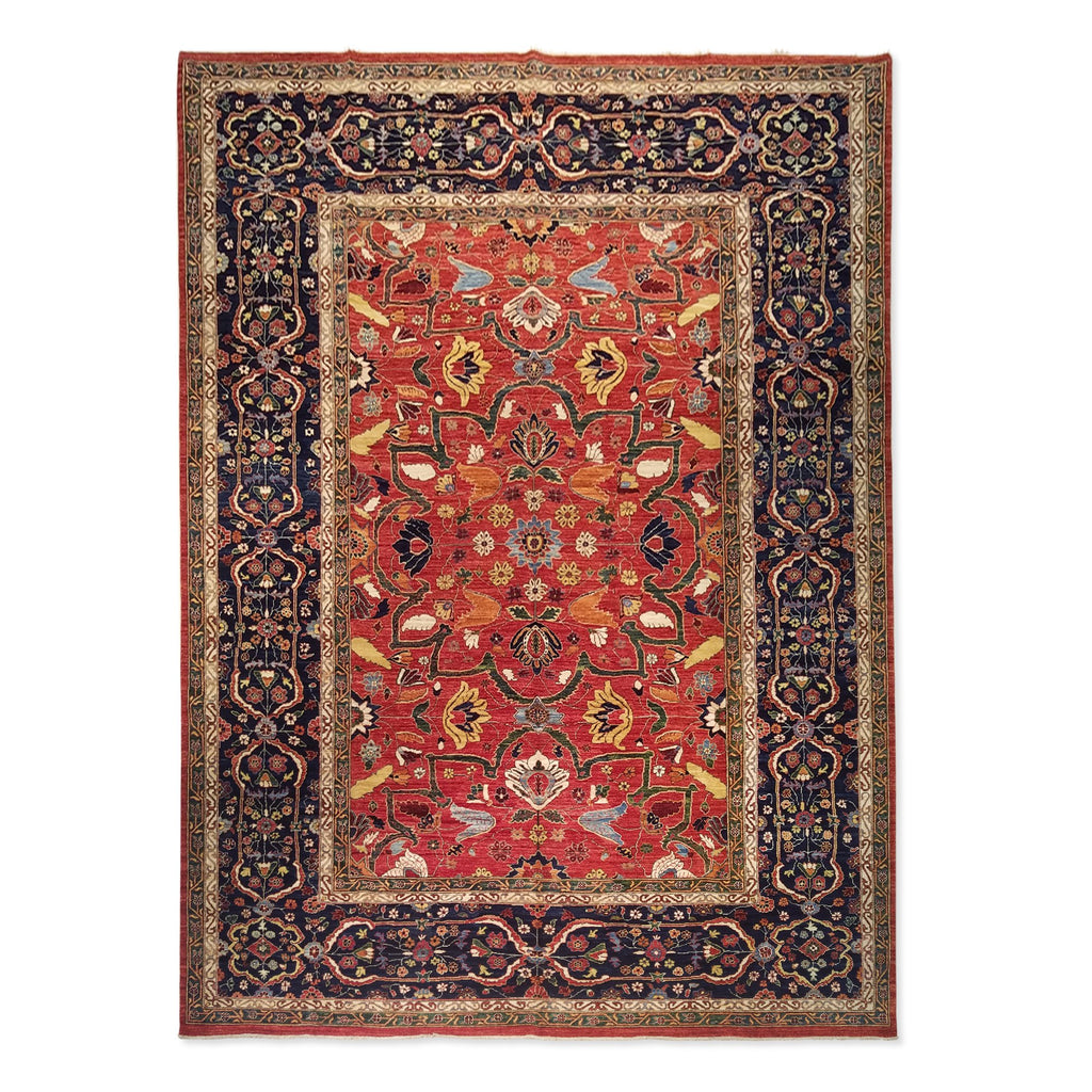 "10'0"" x 13'9""   Serapi Rug Top View"
