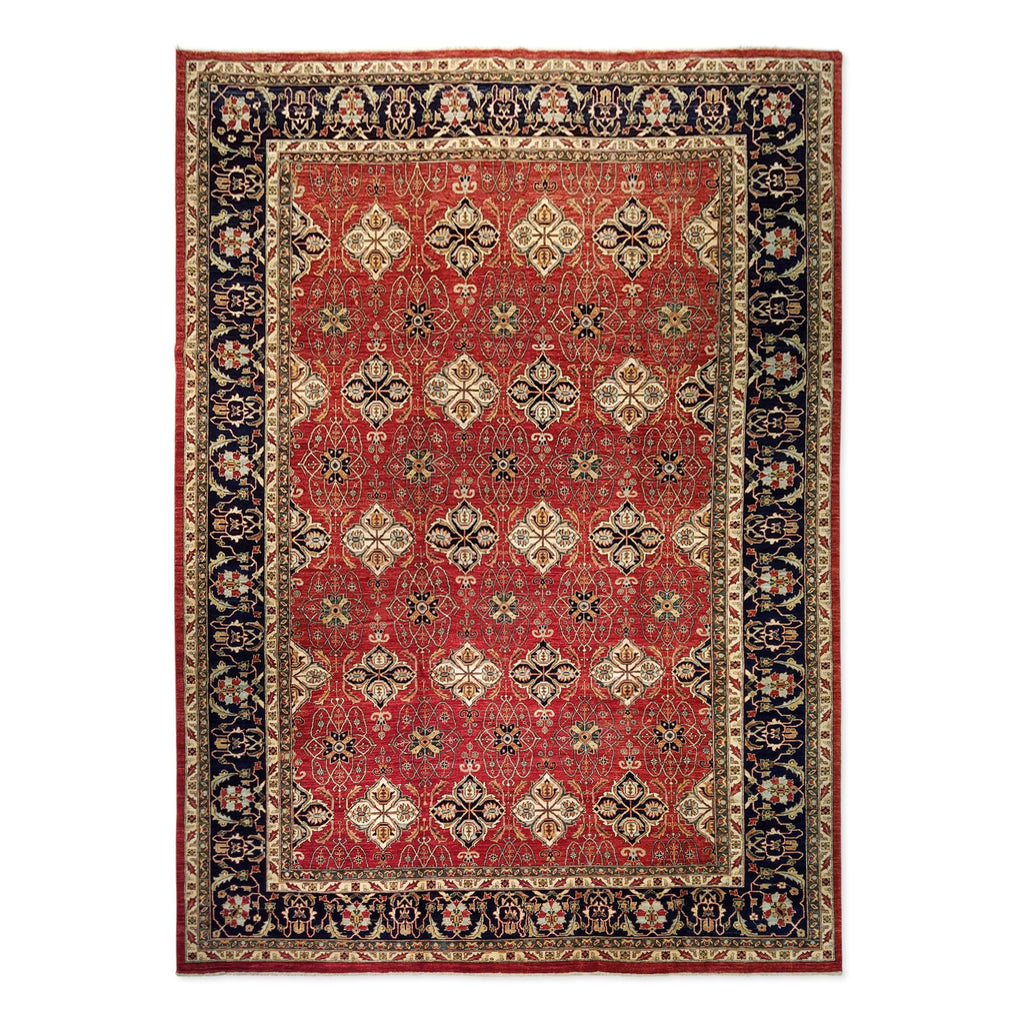 "9'11"" x 13'8""   Bidjar Rug Top View"