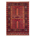 "4'0"" x 5'10""   Hajli Rug Top View"