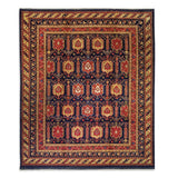 "8'3"" x 9'11""   Yamut Rug Top View"