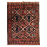 "5'0"" x 6'8""   Yamut Rug Top View"