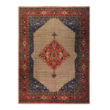 "8'8"" x 11'9""   Bidjar Rug Top View"