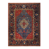 "8'10"" x 11'10""   Bidjar Rug Top View"