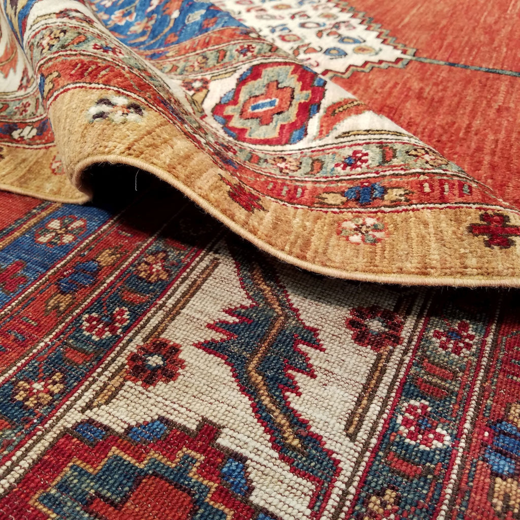 "8'11"" x 11'10""   Bidjar Rug Back View"