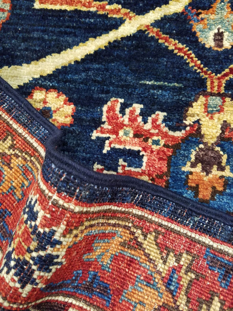 "2'7"" x 15'6""   Bidjar Runner Rug Back View"