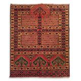 "5'3"" x 6'5""   Hajli Rug Top View"