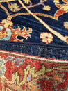 "2'7"" x 13'2""   Serapi Runner Rug Back View"