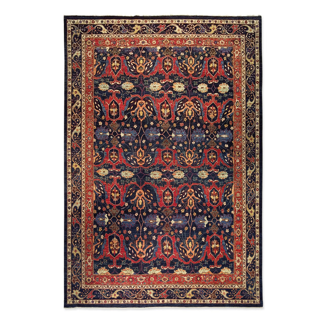 "9'10"" x 14'4""   Bidjar Rug Top View"