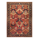 "10'0"" x 13'10""   Dragon Design Rug Top View"
