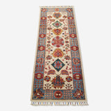 "2'5"" x 6'2""   Gabbeh Runner Rug Top View"