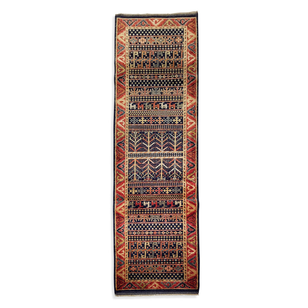"2'9"" x 9'0""   Chichi Runner Rug Top View"