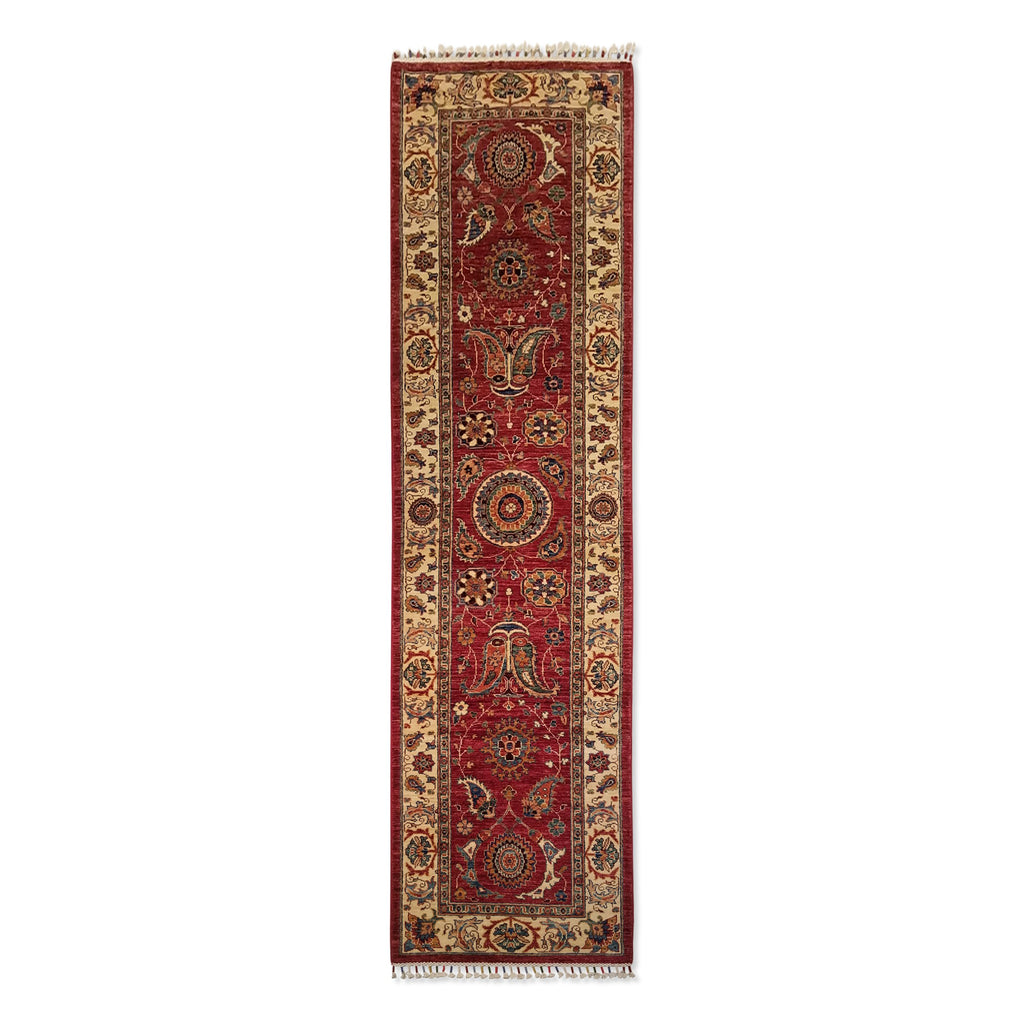 "2'7"" x 9'7""   Runner Rug Top View"