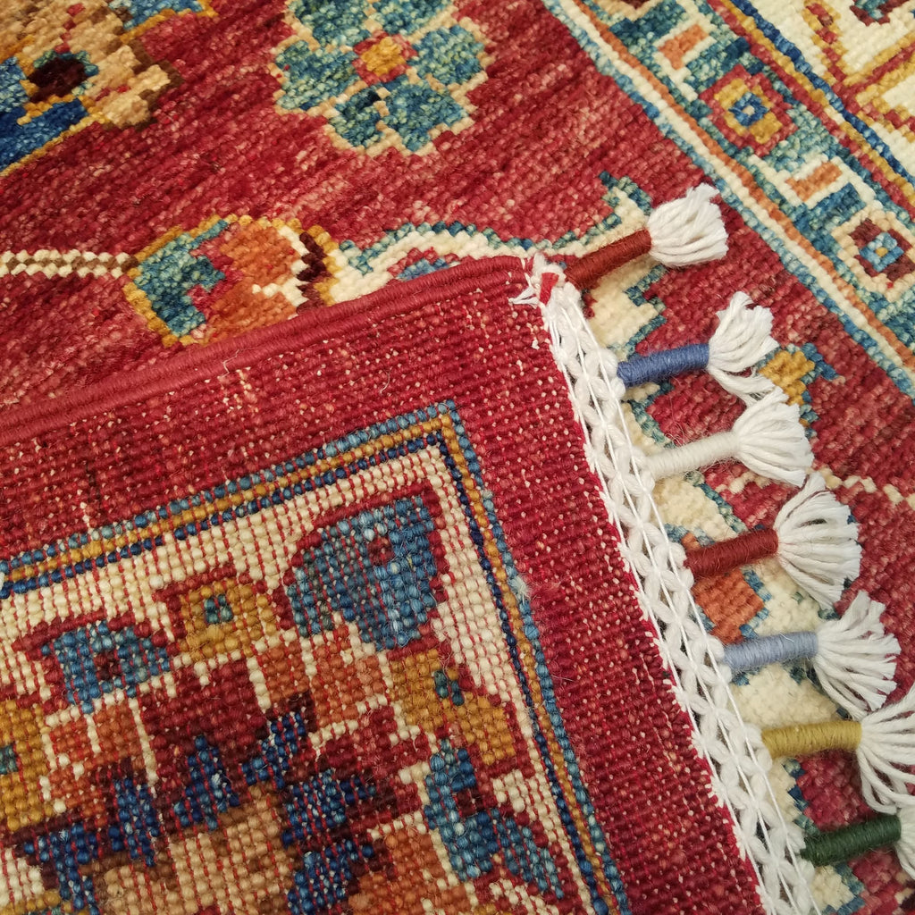 "2'7"" x 9'7""   Runner Rug Back View"