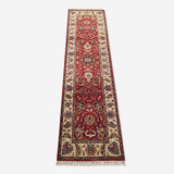 "2'9"" x 10'11""   Gabbeh Runner Rug Top View"