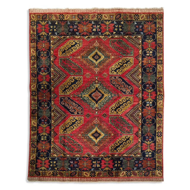 "6'6"" x 8'2""   Yamut Rug Top View"