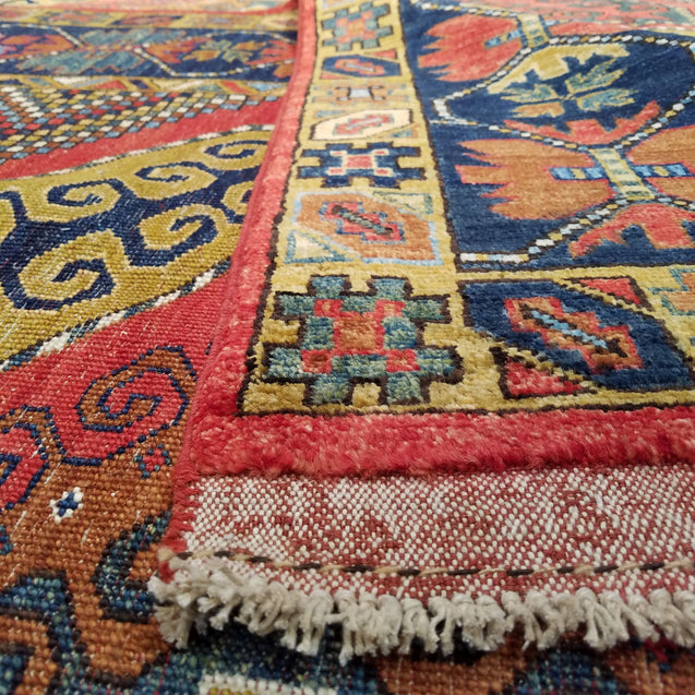 "6'6"" x 8'2""   Yamut Rug Back View"