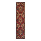 "2'6"" x 9'10""   Heriz Runner Rug Top View"