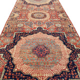 "2'6"" x 9'6""   Mamluk Runner Rug Back View"