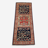 "2'0"" x 4'8""   Qom Rug Top View"