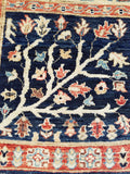 "2'0"" x 4'8""   Qom Rug Back View"