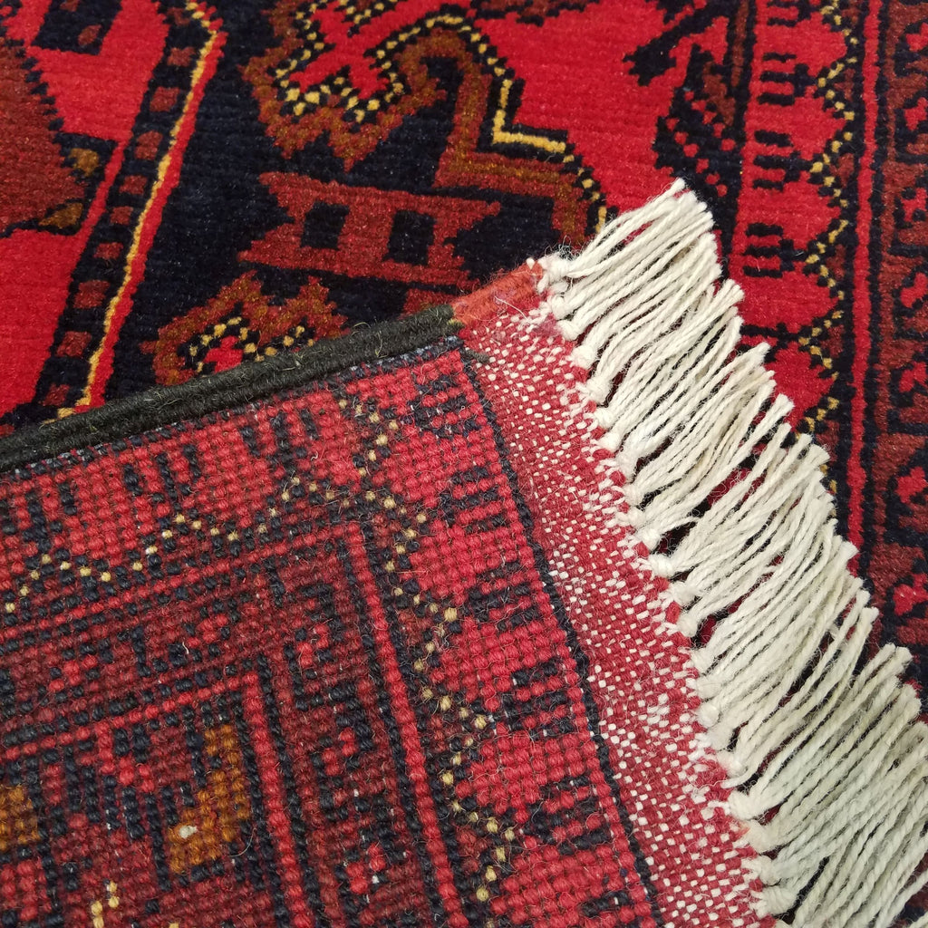 "2'7"" x 6'4""   Kunduz Runner Rug Back View"