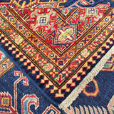 "5'0"" x 7'0""   Super Kazak Rug Back View"
