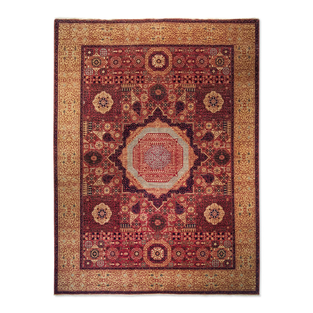 "8'11"" x 11'11""   Mamluk Rug Top View"