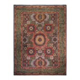 "8'11"" x 11'10""   Mamluk Rug Top View"